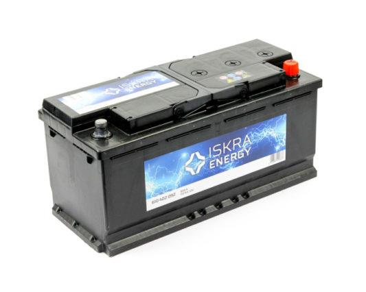 Автомобильный аккумулятор ISKRA ENERGY 110 А/ч в Воронеже купить в наличии