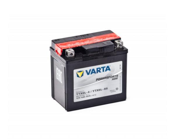 Аккумулятор для мотоцикла, мопеда Varta Powersports YTX5L-BS AGM 4 А/ч в Воронеже купить