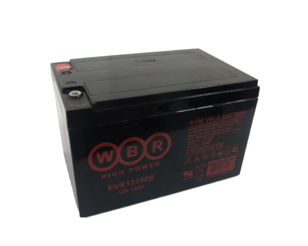 ИБП, аккумулятор для детской машинки в Воронеже WBR EVX12150S AGM 15 А/ч купить
