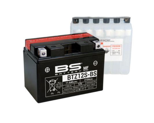 Аккумулятор для мотоцикла в Воронеже купить BS Battery BTZ12-S (YTZ12-S) AGM 11.6 А/ч