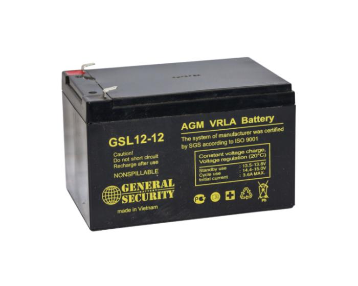 Аккумулятор для ИБП для пожарной сигнализации General Security GSL 12-12 AGM в Воронеже купить