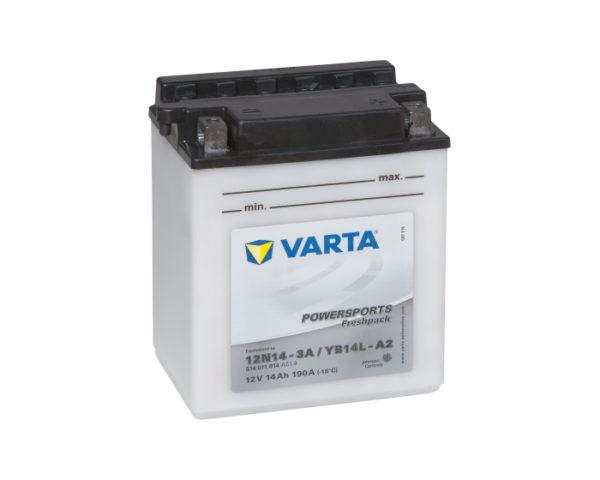Мотоциклетный аккумулятор в Воронеже Varta Powersports YB14L-A2 (12N14-3A) 14 А/ч купить
