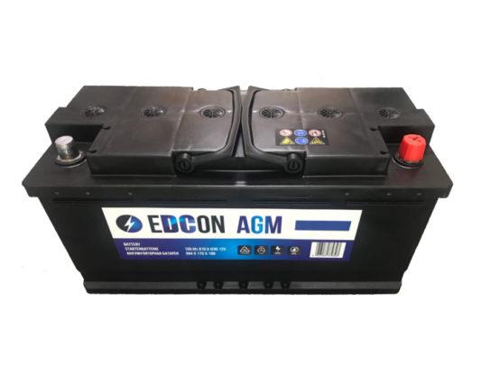 Авто аккумулятор в Воронеже Edcon AGM (Varta) Start-Stop 105 А/ч купить
