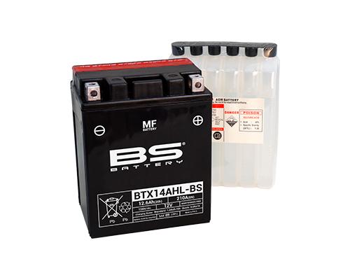 BS Battery BTX14AHL-BS (YTX14AHL-BS) AGM 12.6 А/ч в Воронеже купить в наличии