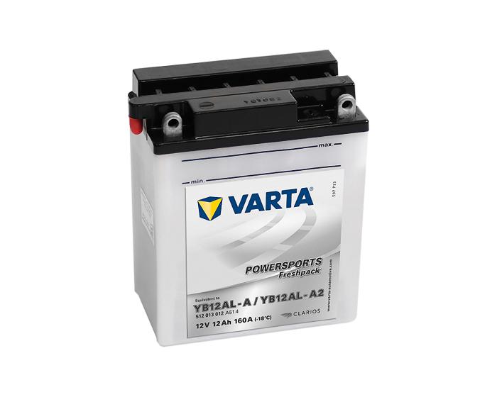 Аккумулятор для мотоцикла Varta Powersports YB12AL-A (YB12AL-A2) 12 А/ч в Воронеже купить