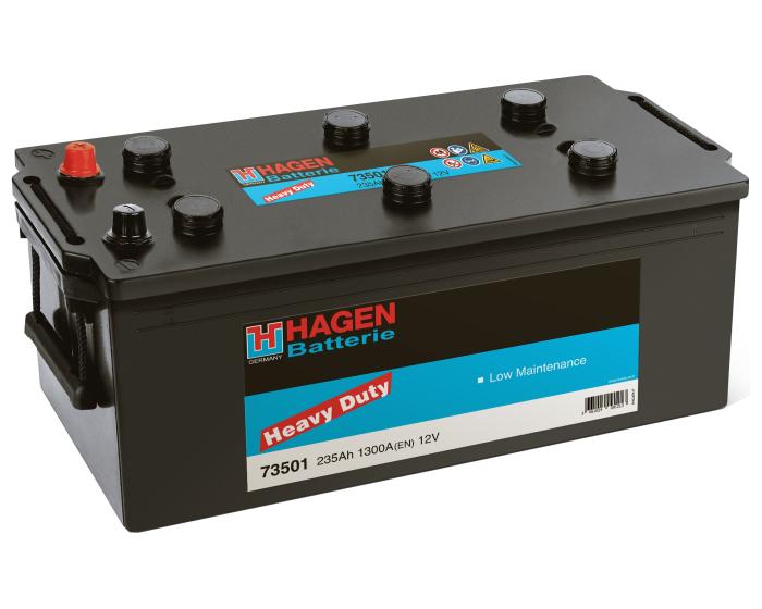 Грузовой аккумулятор в Воронеже Hagen Heavy Duty 235 А/ч в наличии купить