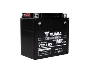 Аккумулятор для мотоцикла Yuasa YTX14-BS AGM 12.6 А/ч в Воронеже купить