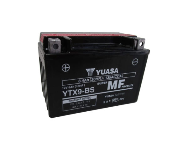 Мото аккумулятор Yuasa YTX9-BS AGM 8.4 А/ч в Воронеже купить