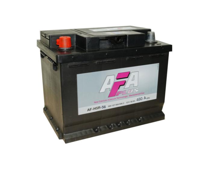 Аккумулятор на автомобиль в Воронеже купить AFA Plus 56 А/ч для ВАЗ