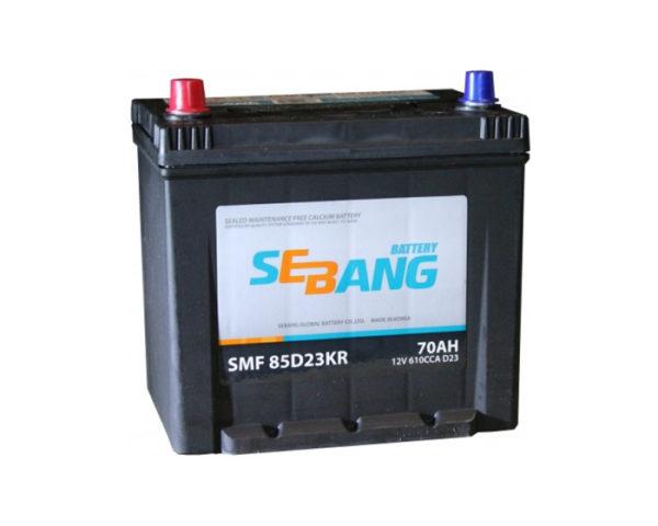Аккумулятор Sebang SMF 85D23KR 70 А/ч в Воронеже купить в наличии