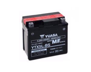 Аккумулятор для мотоцикла Yuasa YTX5L-BS AGM 4,2 А/ч в Воронеже в наличии купить